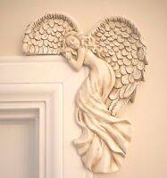 Pair Of Shabby Chic Guardian Angel Door Frame Home Decor Christmas Decoration