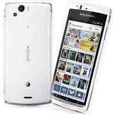 "White! Unlocked Android OS Phone 4.2"" Sony Ericsson Xperia arc S LT18i 8MP GPS"