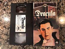 Dracula Vhs! 1931 Horror! Mark Of The Vampire Son Of Dracula The Wolf Man