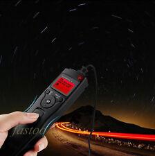 Changable Cord Timer Remote Cord for Nikon D90 D5000 D3100 D7000 D5100 fo
