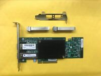 HP NC552SFP DUAL PORT 10GbE SERVER ADAPTER 614203 B21  HP With 2 Transce