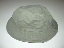 SIMMS Khaki Cotton Bucket  Hat Hiking Fly Fishing Hat NEW Women Unisex S/M EA