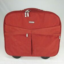 "Baggallini Roller Bag Reddish Brown 17"" Wide x 14"" Tall 40"" Tall With Handle"