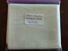 "New ListingFabric - 28ct. Monaco 20""x24"" Cross Stitch Fabric Antique White"