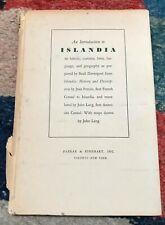 An Introduction to Islandia - Basil Davenport - 1942  (Austin Wright's Islandia)