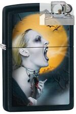 Zippo 28435 screaming vampiress Lighter with PIPE INSERT PL
