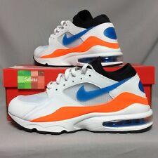 Nike Air Max 93 UK10 306551-104 US11 EUR45 white blue orange 1 80 90