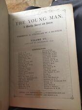 The Young Man 1893 Arthur Conan Doyle Story Sherlockian Collectible Rare