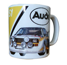 Audi Quattro Group B Rally Gift Mug