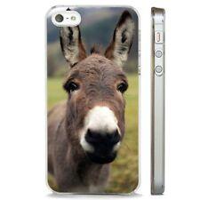 Cute Donkey Big Ears Mule CLEAR PHONE CASE COVER fits iPHONE 5 6 7 8 X