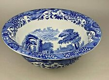 Copeland Spode Blue Italian EXTRA LARGE Decorative Bowl - 37cm - Vintage