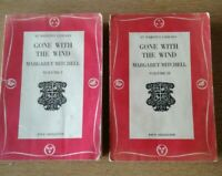 GONE WITH THE WIND. Vol 1&2. Margaret Mitchell. St Martins Paperback. 1957 Rare