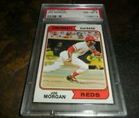1974 Topps Joe Morgan #85 Cincinnati Reds HOF PSA 8 NM MINT