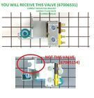 NEW Refrigerator Water Icemaker Valve for Viking PS400179  12544118 photo