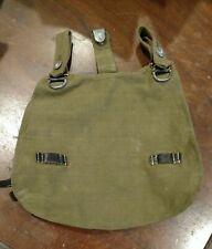 ORIGINAL GERMAN WW2 M31 LATE WAR BREAD BAG Rbn NUMBER