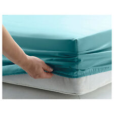 FITTED SHEETS PERCALE SINGLE DOUBLE KING SUPER KING SIZE