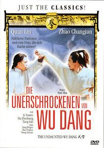 The undaunted Wu Dang , DVD UK Region , uncut , new , Lady Kung Fu , Wudang