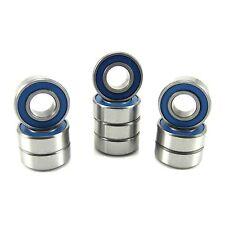 (10) MR126 2RS (6x12x4) ABEC-3 Chrome Steel Blue Seal Ball Bearings