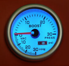 52mm Turbo Boost gauge 30 Psi Audi A3 A4 A6 A8 TT Petrol & Diesel Turbo