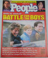 People Weekly Magazine Princess Diana, Michael Jackson September 1993 103112R2