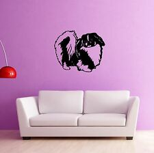 Wall Stickers Vinyl Decal Cute Puppy Dog Animal Pets (ig907)