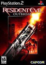 Resident Evil: Outbreak Complete NM PlayStation 2 (PS2)COMPLETE BLACK LABEL