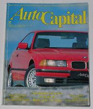 AUTOCAPITAL 2/1992 AUTOBIANCHI BIANCHINA – LANCIA FULVIA COUPE' HF LUSSO