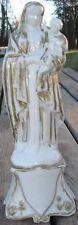 -Vierge à l'Enfant Jesus XIX ème Porcelaine Vieux Paris