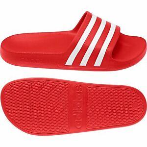 Leve Oportuno Cuatro  Sandalias y chanclas de hombre rojos adidas | Compra online en eBay