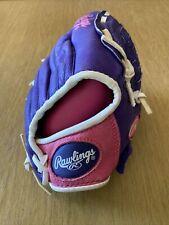 Rawlings 10'' Girls' Highlight Series Softball Glove Right Hand Thrower PR/PK