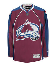 Colorado Avalanche Reebok Premier Replica Home NHL Jersey Size Large NEW
