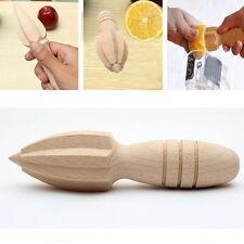 Wooden Fruit Lemon Squeezer Juicer Lime Citrus Press Hand Reamer Kitchen Tool UK