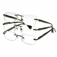 Design Optics by Foster Grant Rimless Classic 3 pack Reading Glasses