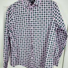 Lands' End Woman Plus Size 16 Shirt Button Down Long Sleeve Lavender