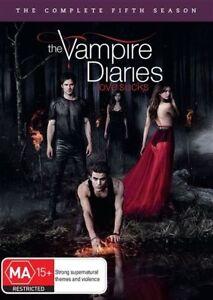 Vampire Diaries : Season 5 (DVD, 5-Disc Set) NEW+SEALED