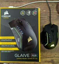 Corsair Glaive RGB Gaming Mouse - Original Box and accessories