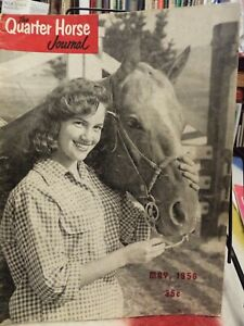 The QUARTER HORSE JOURNAL .May 1956