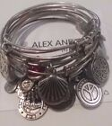 ALEX AND ANI Russian Silver Expandable Bracelets Some Rare You Choose  ❤️  46