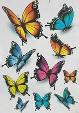 Schmetterlinge - Wand Aufkleber-Fenster-Bild-Wandtattoo-Schrank-Bad-Badezimmer