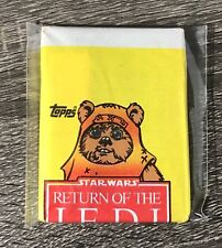 1983 Topps - Star Wars: ROTJ - Unopened ERROR Wax Pack - Ewoks Wicket FREE SHIP