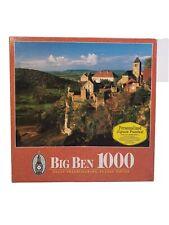 Big Ben Jigsaw Puzzle Chateau-Chalon France 1000pc 51x67cm