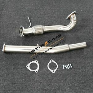 "3.0"" DeCat Exhaust Down Pipe For 00-06 Audi TT Quattro S3 Mk1 Typ8L 8N 1.8t 225"