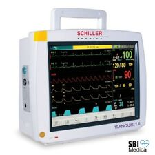 SCHILLER Tranquility II 12.1 inch TOUCHSCREEN Multiparam Patient Monitor 2 Yr Wy
