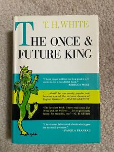The Once And Future King HARDCOVER BOOK, T. H. White 1958 HC/DJ