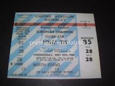 Manchester United Football European Club Fixture Tickets & Stubs