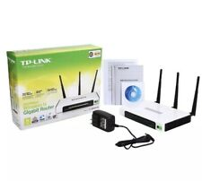 TP-LINK TL-WR940N 300N Wireles 4 PortRouter Internet 300Mb/s 3 Antens WPS Button