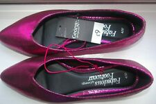 NEW LADIES PINK SHOES SIZE 4