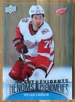 18-19 UD Tim Hortons Clear Cut Phenoms #CC-10 DYLAN LARKIN 2018-19