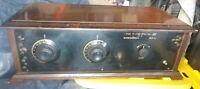 Very Rare Barnes & Worden Long Island Special VIII Eight 201A Tube Battery Radio