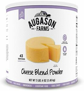 Augason Farms Cheese Blend Powder Emergency Food Storage Camping Survival Can